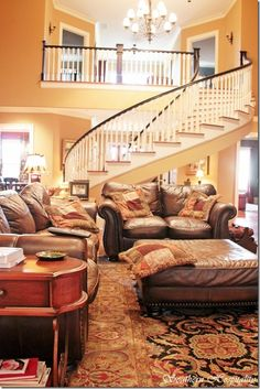 that staircase...i want.
