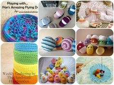 8 Free Toy & Game Crochet Patterns