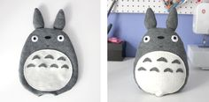 diy totoro!!!#Repin By:Pinterest++ for iPad#
