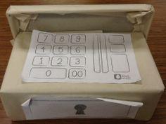 make your own cash register- Danyette Davis