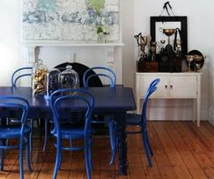AphroChic Dine In Color on About Interior Decorating