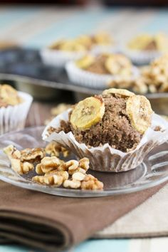 Buckwheat Banana Muffins with almond pulp
