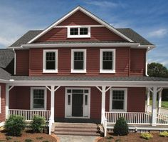 Rockin' it in Red Shingle! #home #house