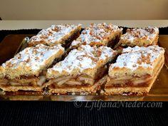 Ribana pita od jabuka i oraha