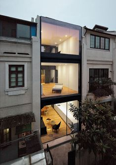 houses, glasses, window, offic, architecture, modern hous, split hous, design, shanghai