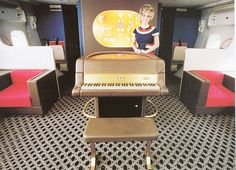 #Piano aboard our #Boeing #747 #Aircraft.  Any one fancy a #tune at 40,000 #feet?!