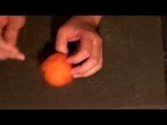 How To Needle Felt A Pumpkin...Awesome needle felting tutorial