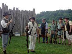 Proctor's Militia  #HistoricHannasTown #Greensburg #PA #colonial #history