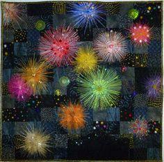 color, art quilt, quilt fireworks, firework quilt, awesom quilt, amaz quilt, quilt art