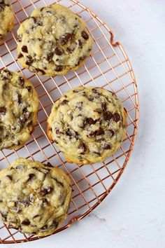 Oversized Soft-Center Chocolate Chip Cookies - A Beautiful Mess