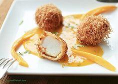 scallops with mango sauce