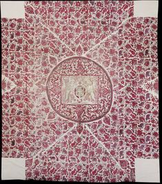 Cover. India. 1625-1685. Painted and dyed cotton chintz. © Victoria and Albert Museum, London