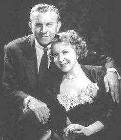George Burns & Gracie Allen.