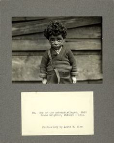 One of the underprivileged, Hull House neighbor, Chicago, 1910 (1910)