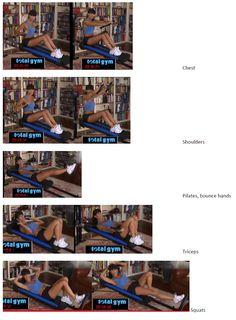 Total Gym Workout Plan Part 2