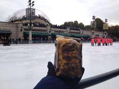 #HappyFriday at Millennium Park ice skating rink! #GarrettPopcorn