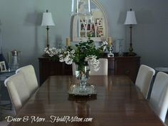 The reveal of my Blogging Without Borders project: my Ugly Duckling Dining Room transformation!