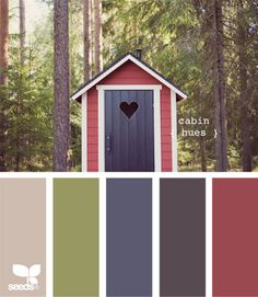 color palett, living rooms, cabin hue, couch color, colors, cabins, living room walls, cabin color schemes, live room