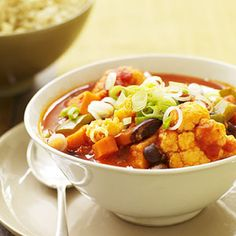 Harvest Chili #myplate #veggies #fall #inseason