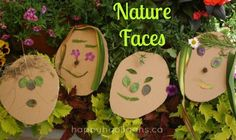 nature faces