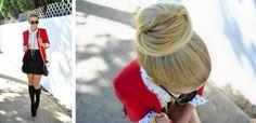 ballerina bun #hair