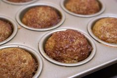 Cinnamon Butternut Squash Muffins (hides squash)
