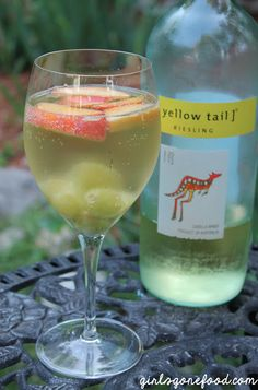 The perfect summer white wine sangria