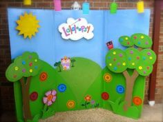 Lalaloopsy backdrop