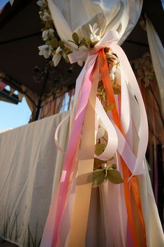 Fairy Party: hang ribbons around and as backdrops to set the mood