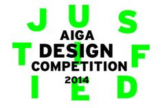 AIGA | Justified Competition: 2014 Selections