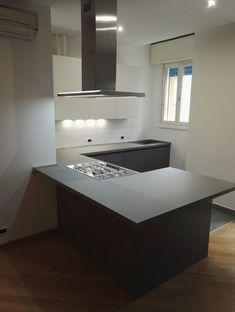 Top Cucina Quarzo Bianco. Free Piano Cucina In Quarzo Polarstone ...