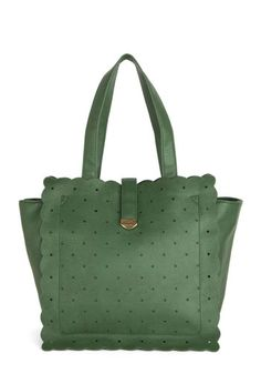 Auntie Emerald Bag, #ModCloth