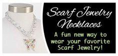 Scarf Jewelry Necklaces