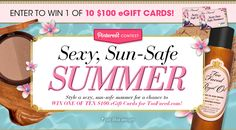 Too Faced's Sexy, Sun-Safe Summer Contest – Enter To Win an eGift Card! #TooFacedSummer