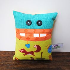Tooth Fairy Pillow for Boy or Girl by CuddleWumkins on Etsy, $15.00