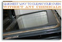 How to Clean Oven Without Chemicals