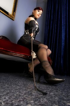 She is going to hurt you .... are you ready?