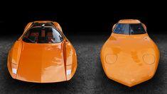 Left: 1969 Adams Probe 16 and right: 1966 Vauxhall XVR