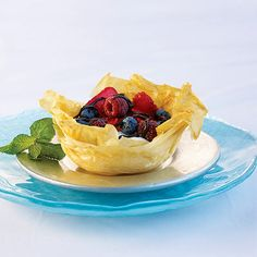 Chocolate Berry Cups - South Beach Diet Recipes