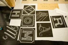 Dana Tanamachi | Custom Chalk Lettering - Journal