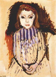 Marguerite by Henri Matisse, 1901