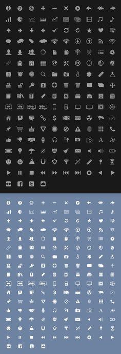 iPhone UI Icon Set