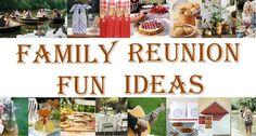Blog: Family Reunion Fun Ideas