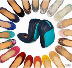 Tieks: I'll take a pair in each color, please!
