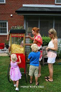 popcorn machine - must have