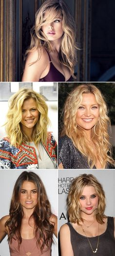 Beachy Messy Waves, Hairstyles