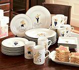 Fun Holiday Dishes ---Reindeer Mugs, Set of 4, Set 1 (Dasher, Dancer, Prancer, Vixen)