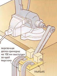 Drill belt sander