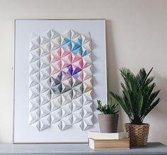 DIY Origami Art by C