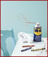 How To Get Crayon Marks Off Of Walls, Floors and Furniture